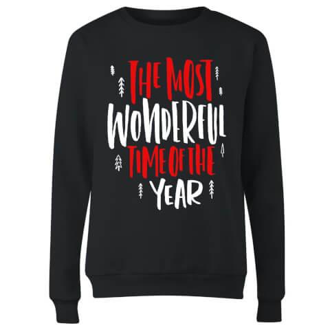 The Most Wonderful Time Women's Sweatshirt - Black