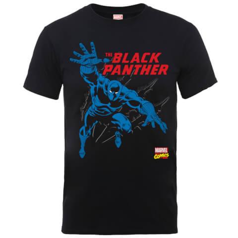 Marvel Comics The Black Panther Black T-Shirt