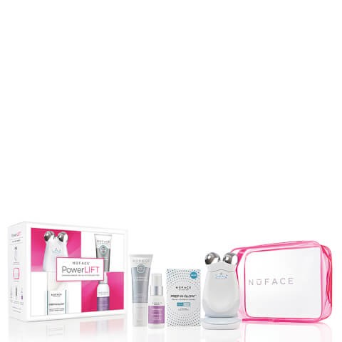 NuFACE Trinity PowerLift Microcurrent Facial Fit Collection (Worth $365)