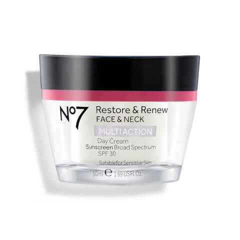 Restore & Renew Multi Action Face & Neck Day Cream SPF 30