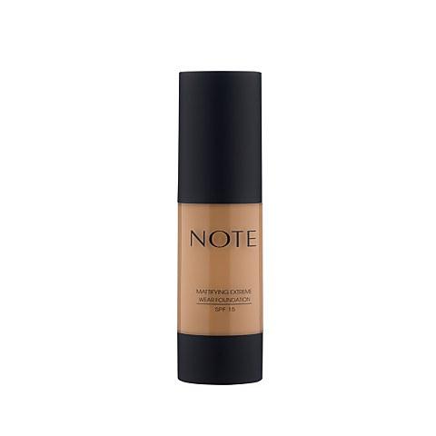 Note Cosmetics Mattifying Extreme Wear Foundation 35ml - 102 Warm Almond