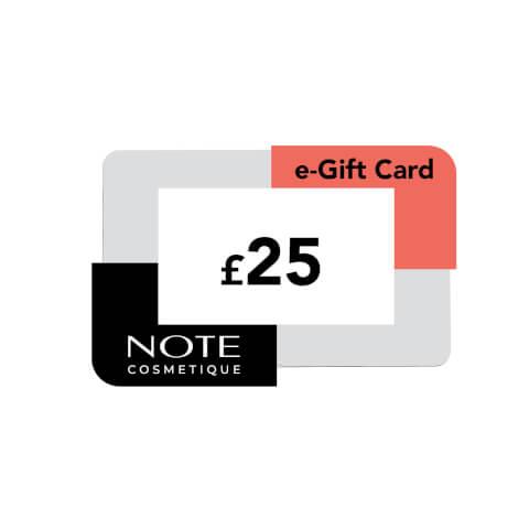 Note Cosmetics eVoucher (£25)
