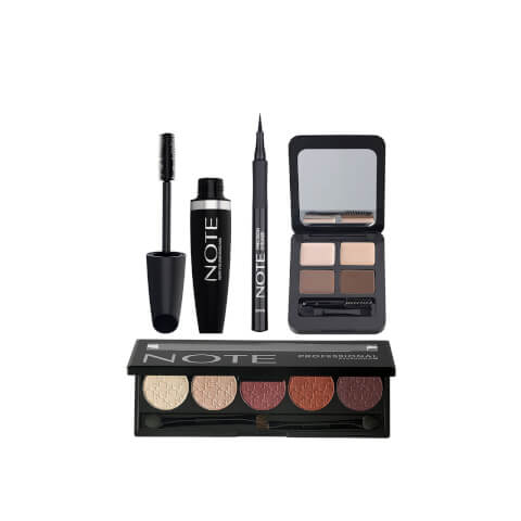 Note Cosmetics Deluxe Eye Bundle - Brunette