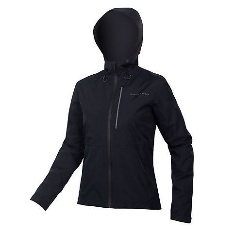 Womens Hummvee Waterproof Hooded Jacket - Black
