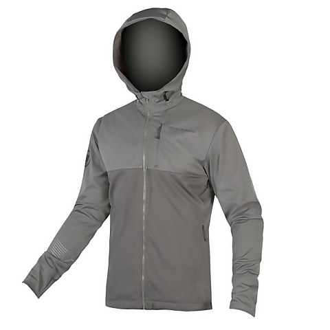 SingleTrack Softshell II - Pewter Grey