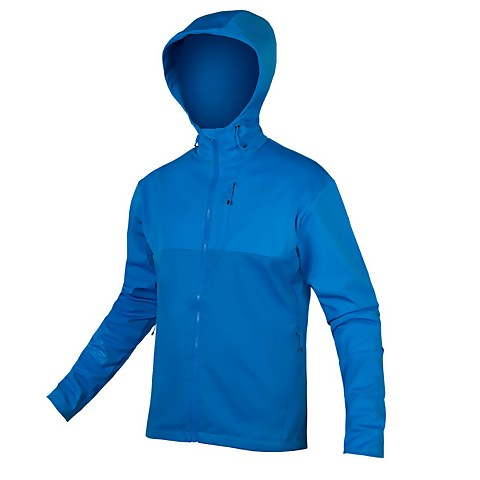 SingleTrack Softshell II - Azure Blue