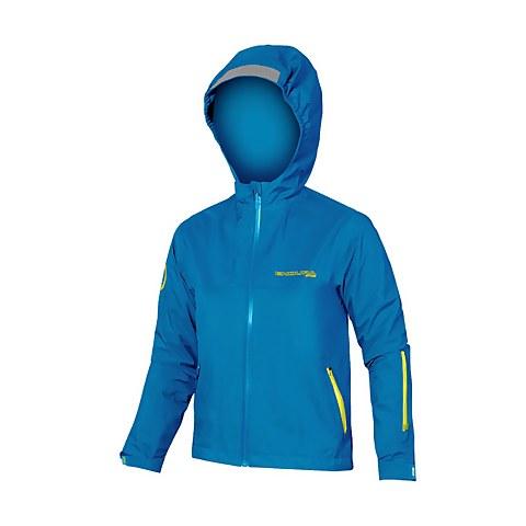 Kids MT500JR Waterproof Jacket - Azure Blue