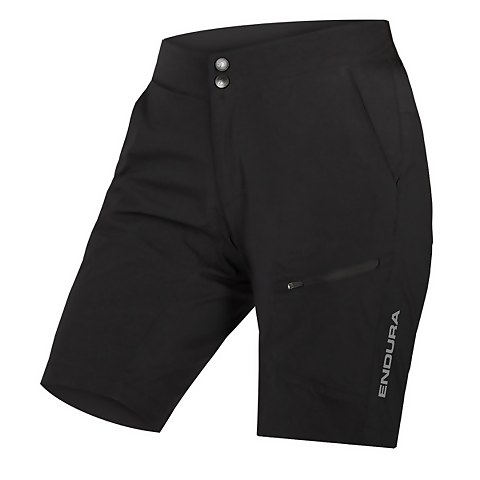 Women's Hummvee Lite Short with Liner - Black