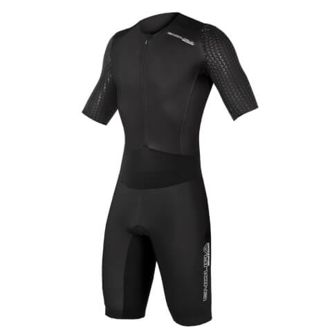 QDC D2Z S/S Tri Suit II with SST - Black