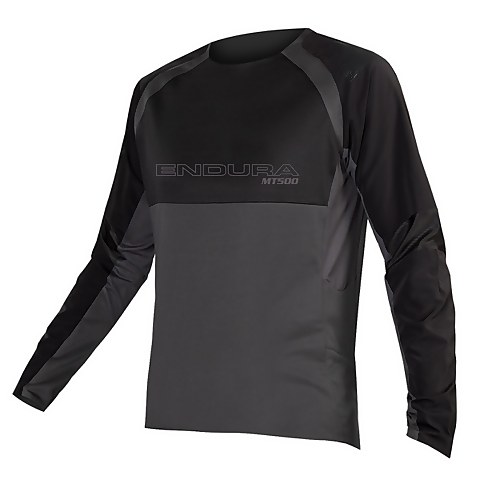 MT500 Burner L/S Jersey II - Black