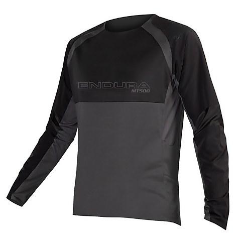 MT500 Burner L/S Jersey II - Black
