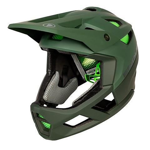 MT500 Full Face Helmet - Forest Green