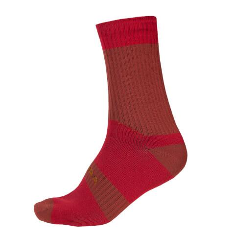 Hummvee Waterproof Socks II - Rust Red