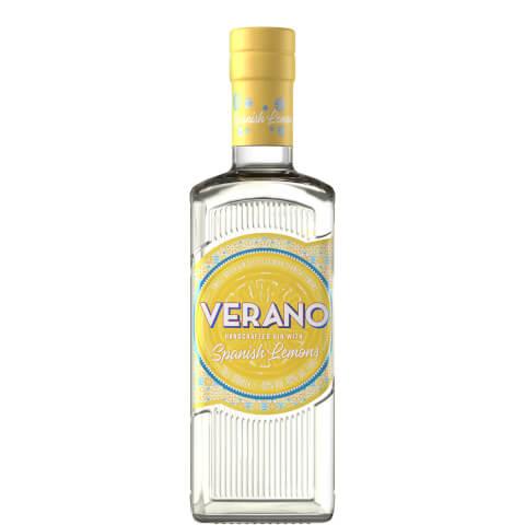 Verano Lemon Flavoured Premium Gin 70cl