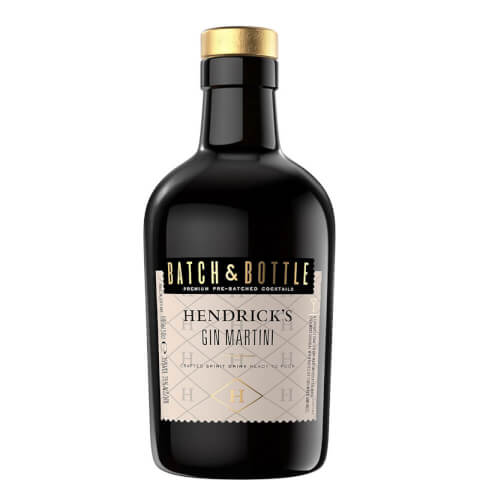 Batch & Bottle Hendrick's Gin Martini Cocktail 50cl