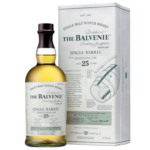 The Balvenie Single Barrel 25 Year Old Single Malt Scotch Whisky 70cl