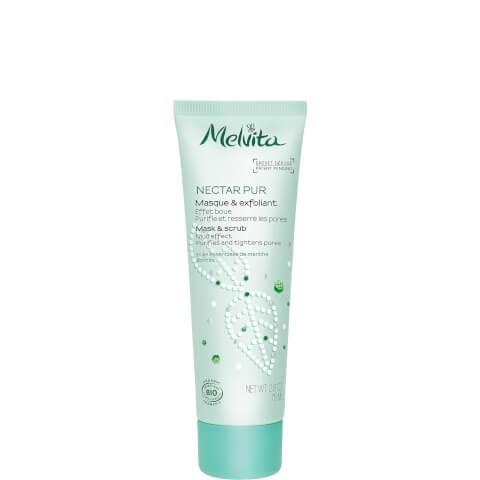 Nectar Pur Organic Mask & Scrub - Mud Effect 有機薄荷深層淨膚磨砂面膜