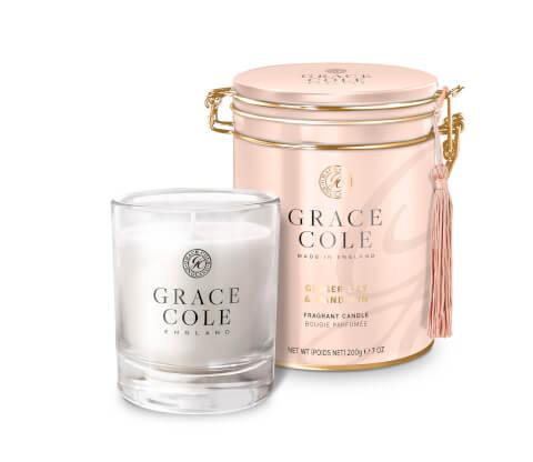 Ginger Lily and Mandarin Candle 200g