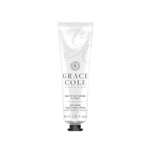 White Nectarine & Pear Hand & Nail Cream 30ml