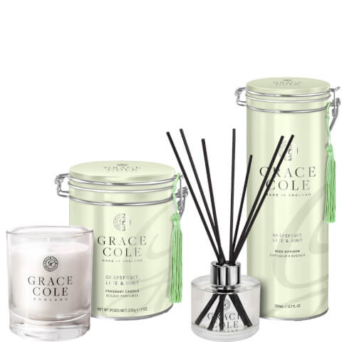 Grapefruit Lime & Mint Home Fragrance Duo