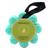 Esponja Embebida com Gel de Banho Wild Flower da Spongellé - Coco e Verbena