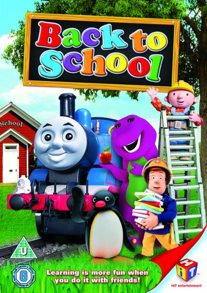 Hit Favourites Back To School Dvd Zavvi