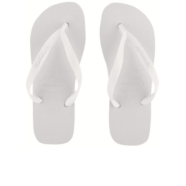 Havaianas Unisex Top Flip Flops - White