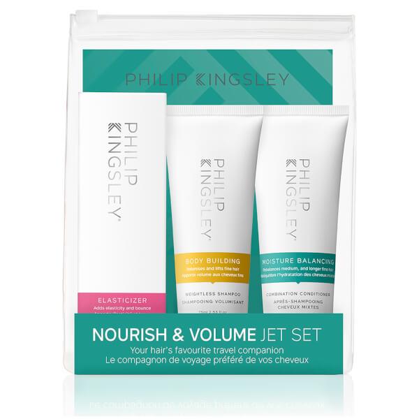 Set productos suavidad y volumen Philip Kingsley Jet Set