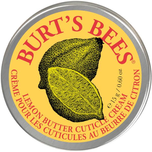 Crema para Cutículas de Manteca de Limón de Burt's Bees (15 g)