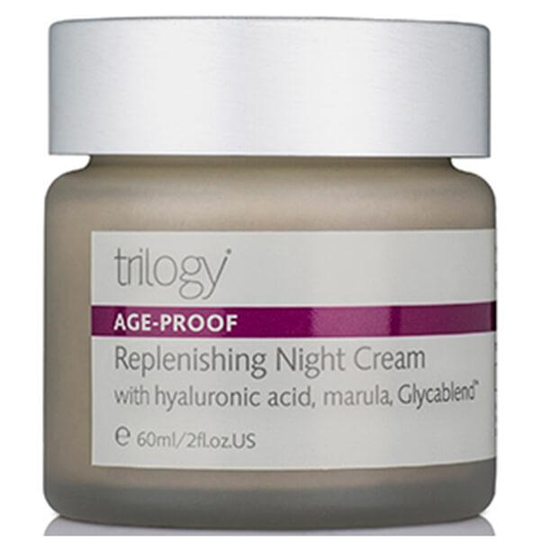 Crema regeneradora de noche Trilogy (60g)