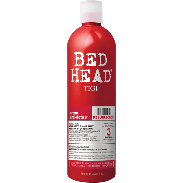 TIGI Bed Head Urban Antidotes Resurrection Shampoo (750ml)