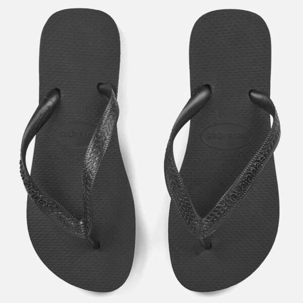 ad276bcb97c28e Havaianas Top Flip Flops - Black  Image 1