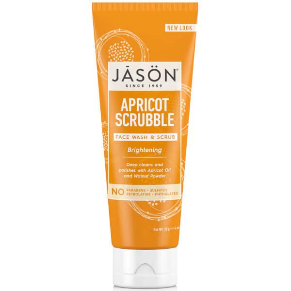 Nettoyant et Exfoliant Facial à l'Abricot par JASON (128ml)