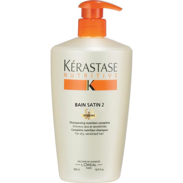 K rastase nutritive bain satin 2 500ml hq hair for Kerastase bain miroir 2 shampoo