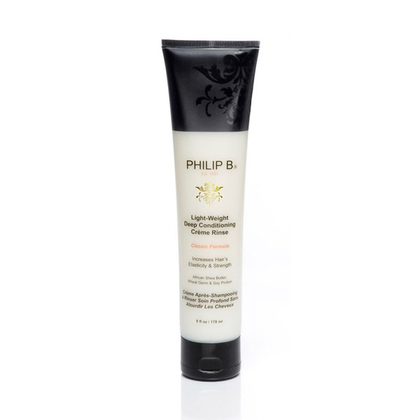 PHILIP B LIGHT-WEIGHT DEEP CONDITIONING CREME RINSE PARABEN FREE FORMULA (6 oz.)