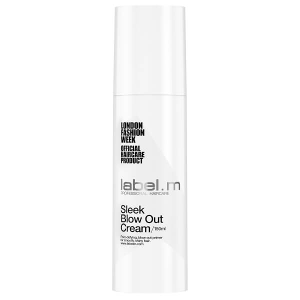 Crema de peinado nutritiva y alisante label.m Sleek Blow Out (150ml)