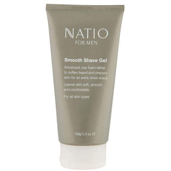 Natio For Men Smooth Shaving Gel (150g)