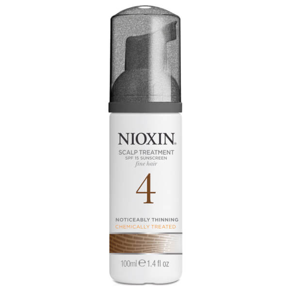 NIOXIN Hair System Kit 4 for Fine, Noticeably Thinning, Chemically Treated Hair (3 Products)