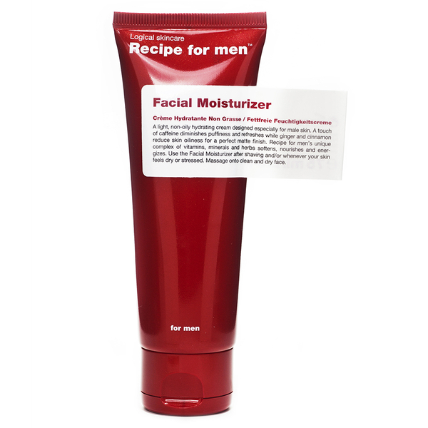 Recipe for Men - Facial Moisturizer 75ml