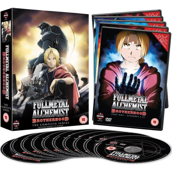 Fullmetal Alchemist Brotherhood - The Complete Series