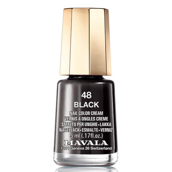 Mavala Black Nail Colour (5ml)