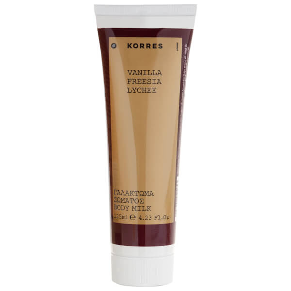 KORRES Natural Vanilla, Freesia and Lychee Body Lotion 125ml