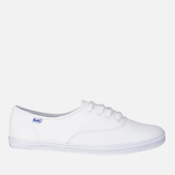614eb35e4b7 Keds Women s Champion CVO Leather Trainers - White  Image 1