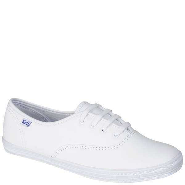25736d24c86f Keds Women s Champion CVO Leather Trainers - White  Image 3