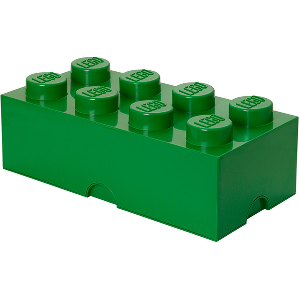 LEGO Storage Brick 8 - Dark Green
