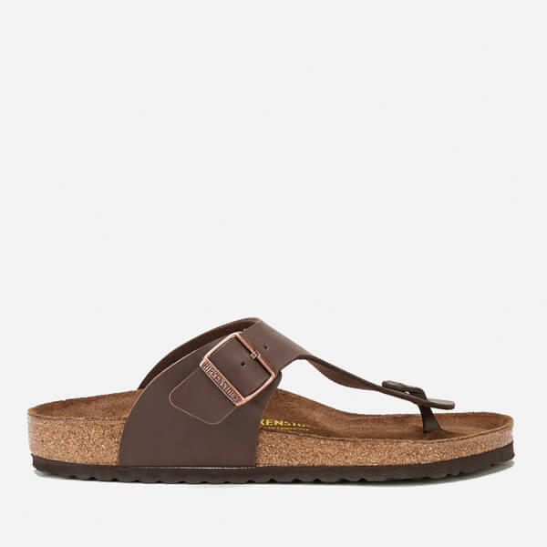 Birkenstock Men's Ramses Toe-Post Sandals - Dark Brown