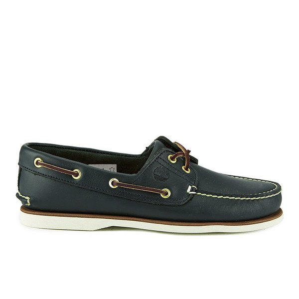 Timberland Men's Classic 2-Eye Boat Shoes - Navy