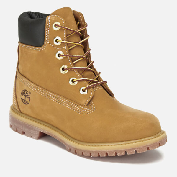 852221d7ae8a4 Timberland Women s 6 Inch Nubuck Premium Boots - Wheat  Image 2
