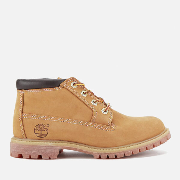 Timberland Women's Nellie Double Leather Chukka Boots - Wheat: Image 1