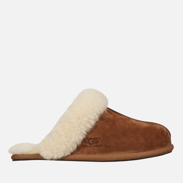 Ugg Women S Scuffette Ii Sheepskin Slippers Chestnut Free Uk Delivery Allsole